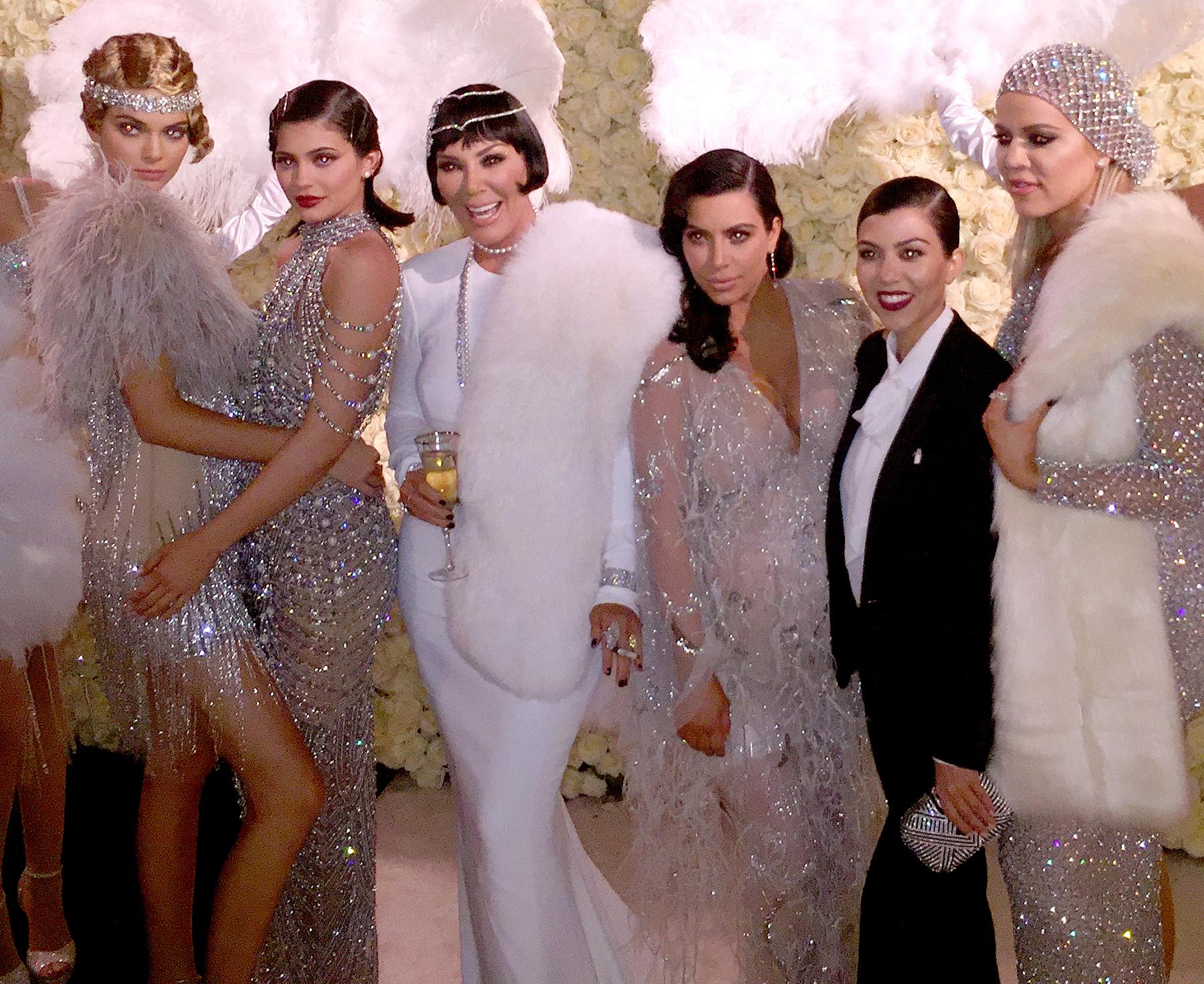 Kendall Jenner, Kylie Jenner, Kris Jenner, Kim Kardashian, Kourtney Kardashian, Khloe Kardashian circa November 2015 in Los Angeles, CA.