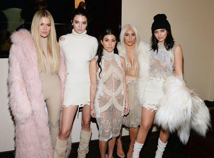 Khloe Kardashian Kendall Jenner Kourtney Kardashian Kim Kardashian West Kylie Jenner