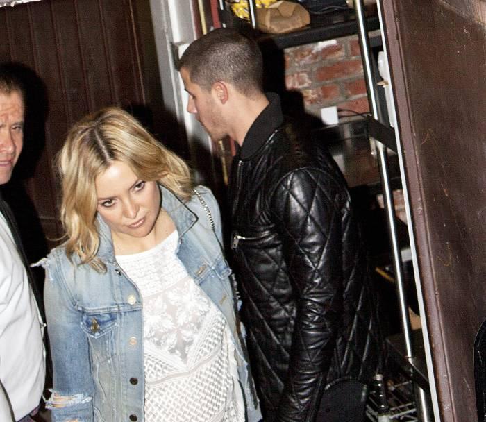 Kate Hudson and Nick Jonas