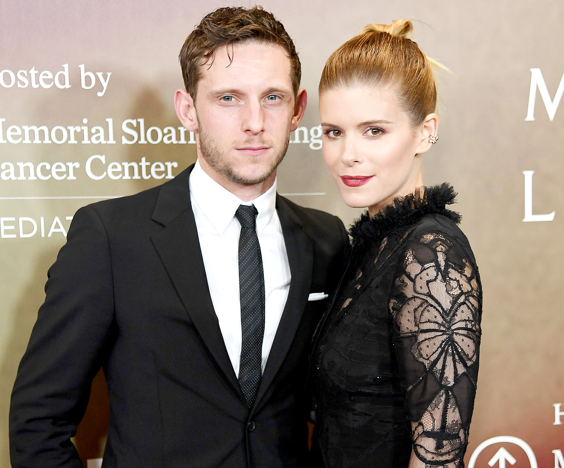 Jamie Bell and Kate Mara attend the 'Megan Leavey' world premiere at Yankee Stadium on June 5, 2017 in the Bronx borough of New York City.