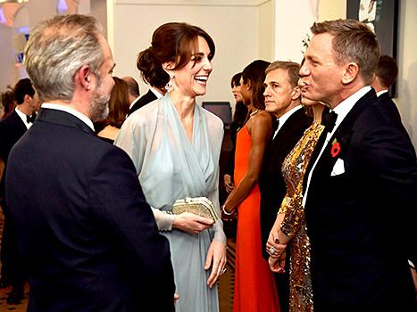 Kate Middleton and Daniel Craig