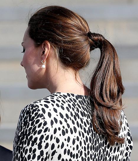 kate ponytail