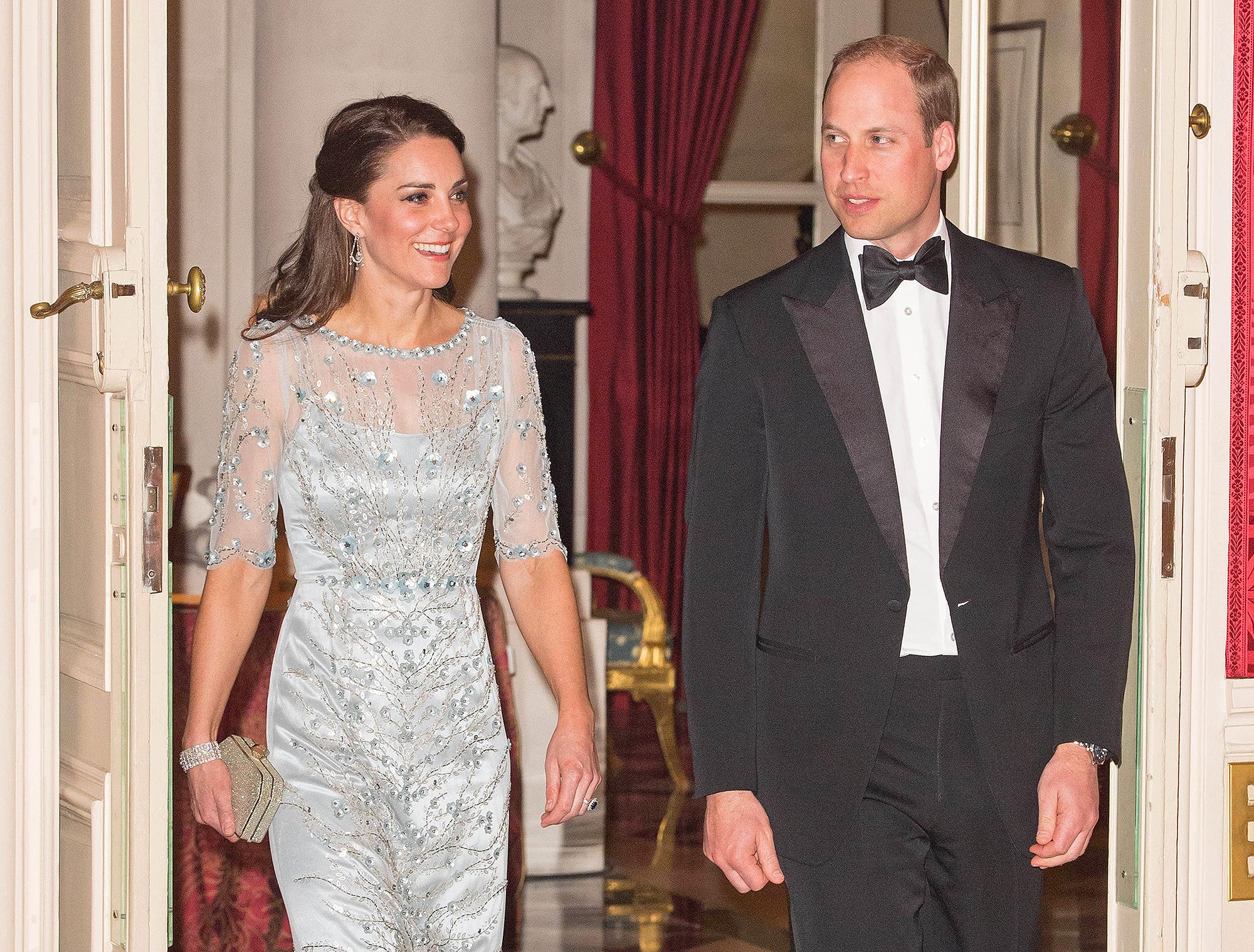 Prince William, Duke of Cambridge and Kate, Duchess of Cambridge