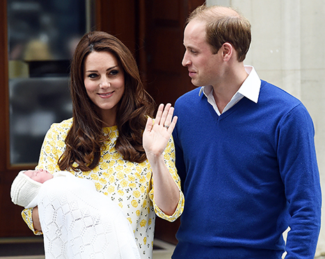 kate, william and charlotte for may 6th story