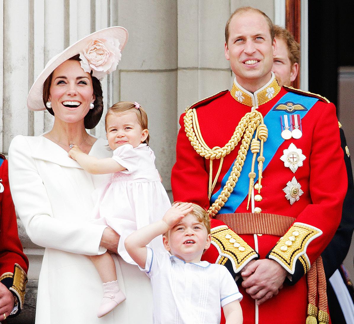 Kate Middleton Charlotte George Prince William