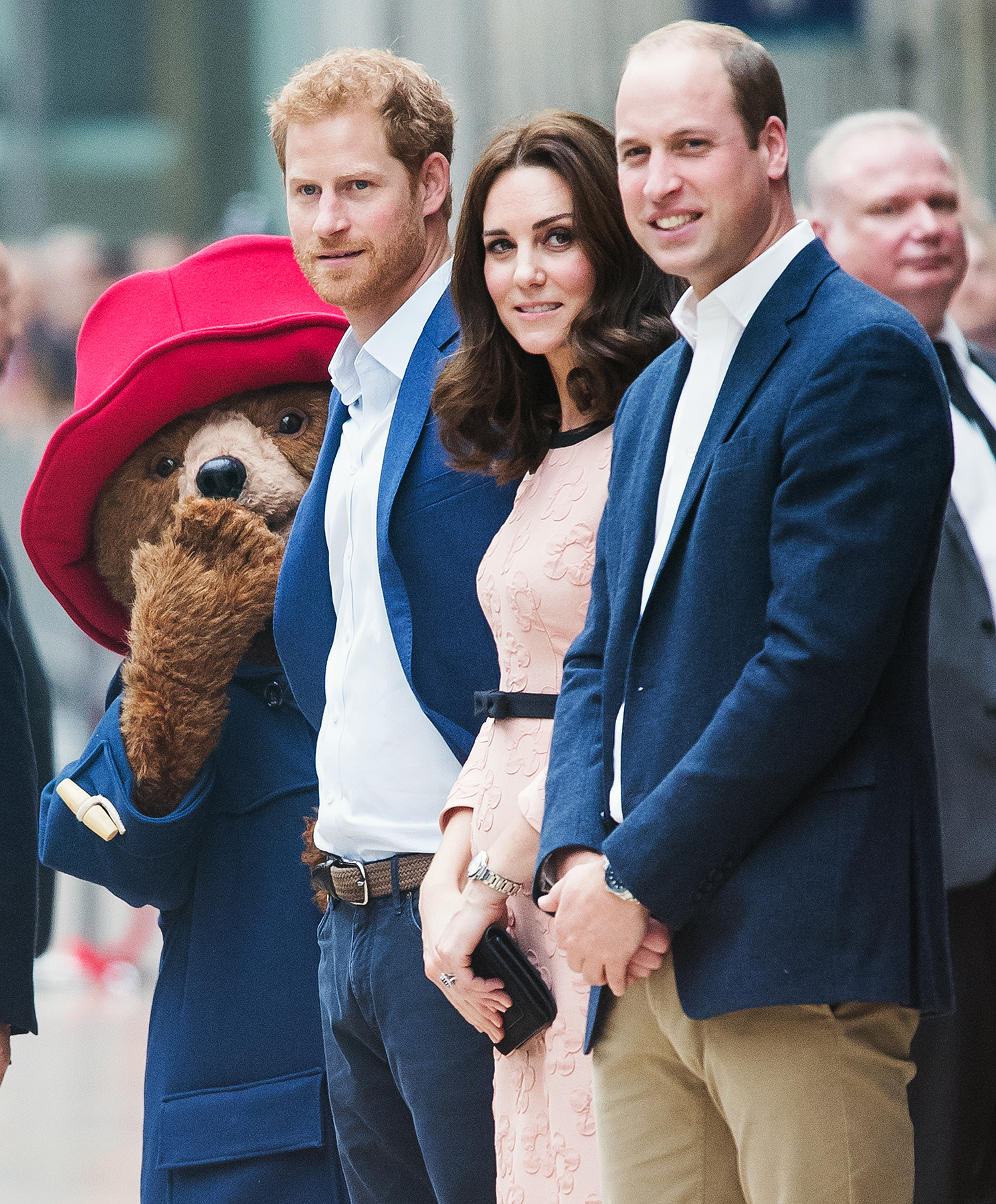 Kate Middleton, Paddington Bear, Prince William, Prince Harry
