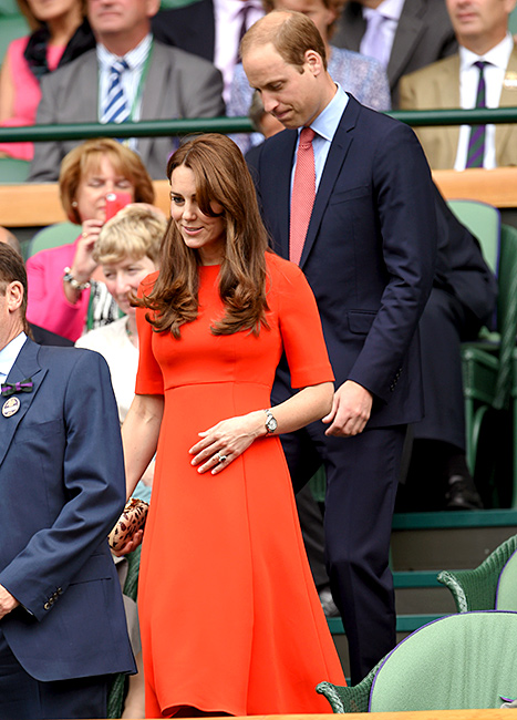 Kate Middleton and Prince William - Wimbledon