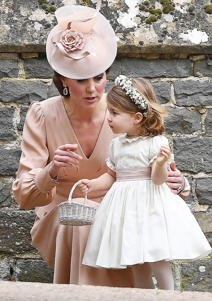 Kate Middelton and Princess Charlotte