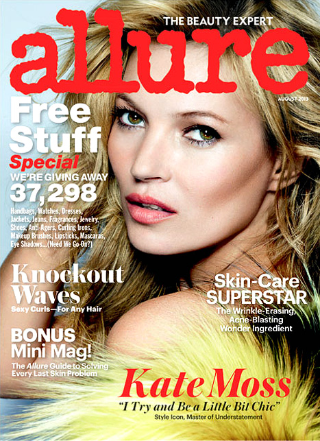 Kate Moss - Allure Cover