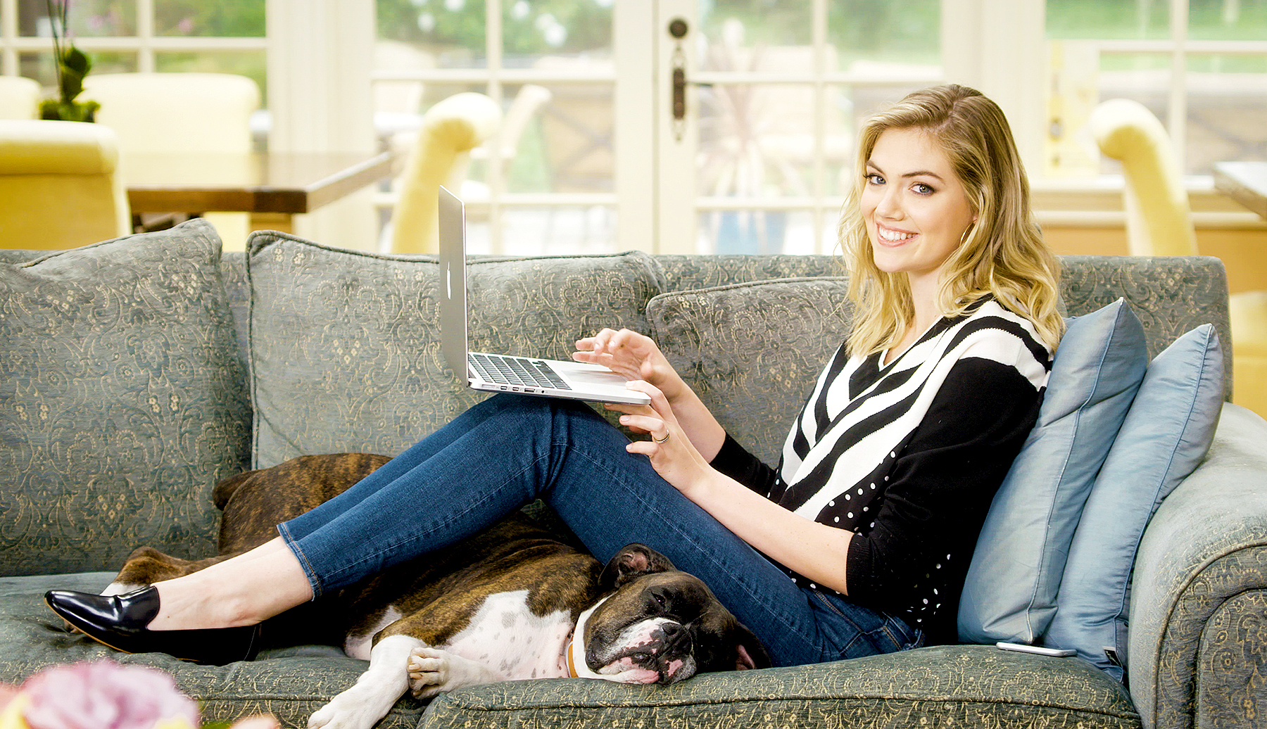 Kate Upton and Harley