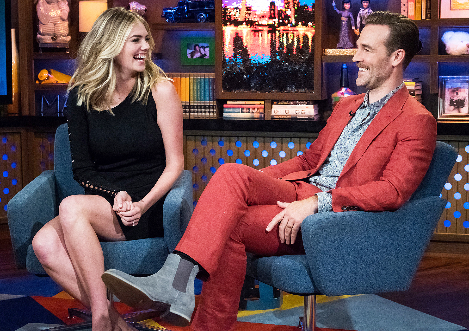 Kate Upton WWHL Watch What Happens Live