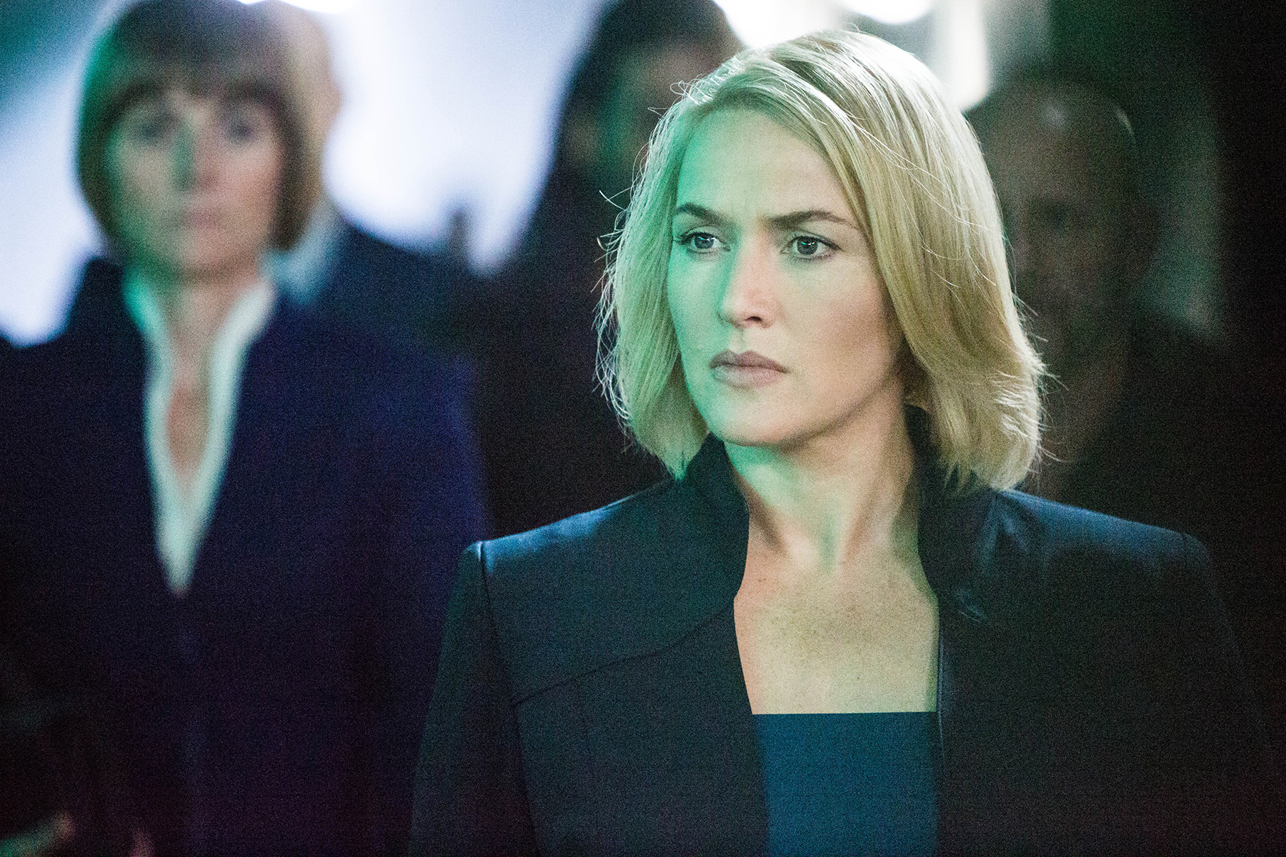 Kate Winslet in Divergent.