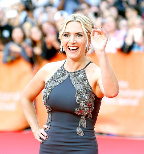 Kate Winslet - TIFF (waving)