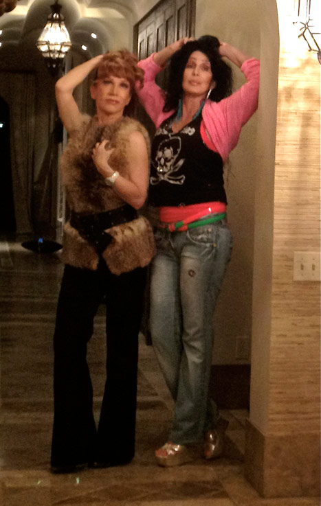 Kathy and Cher