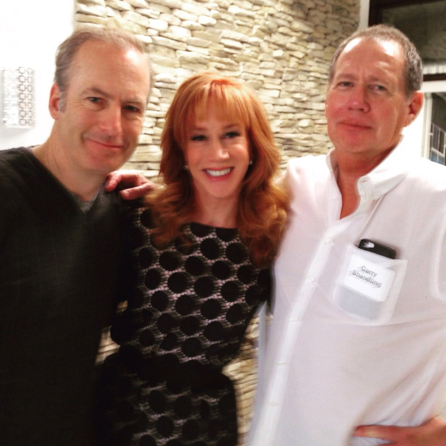 Kathy Griffin and Garry Shandling
