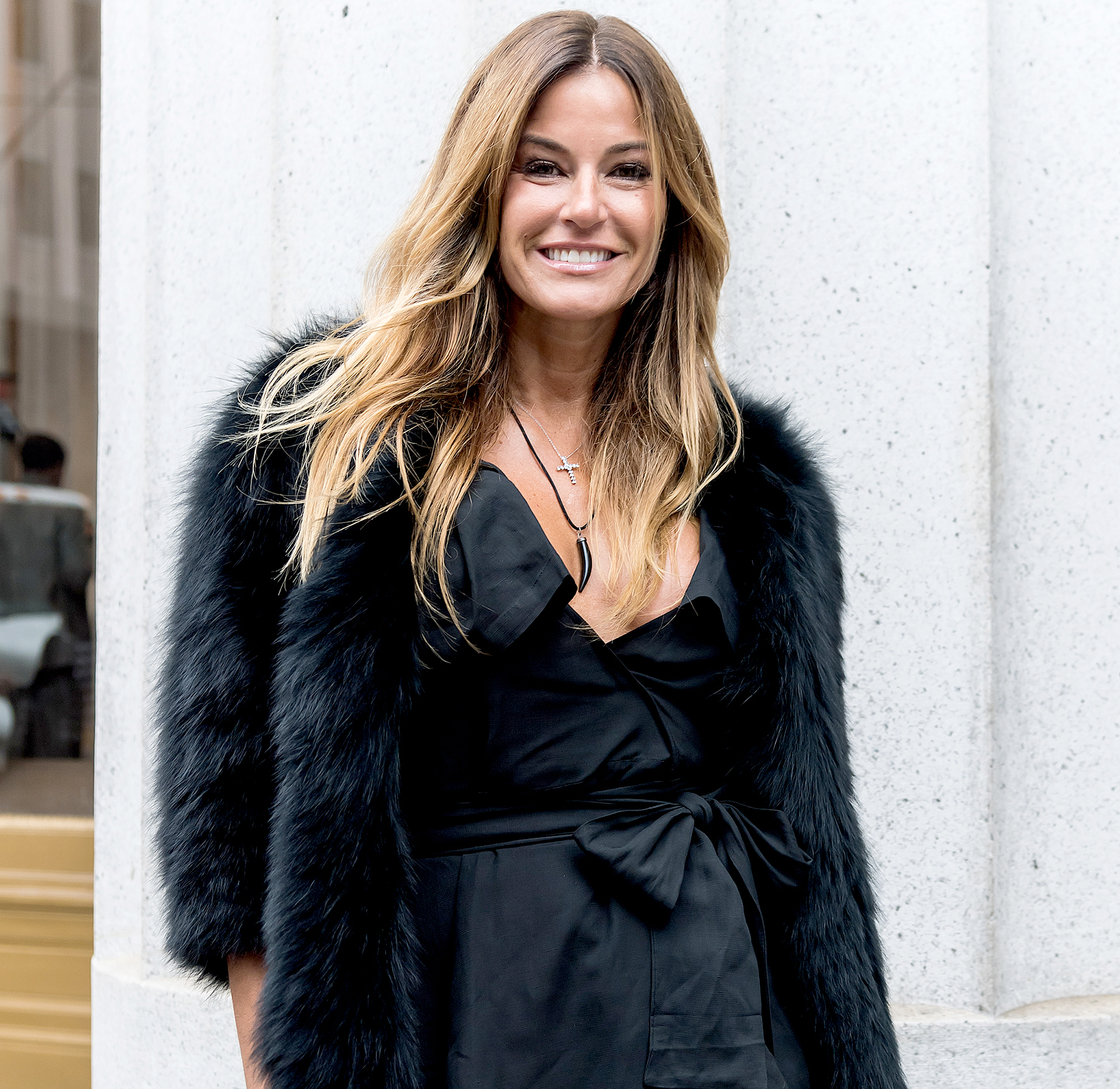 Kelly Killoren Bensimon is seen arriving to the Jill Stuart presentation during New York Fashion Week on February 11, 2017 in New York City.