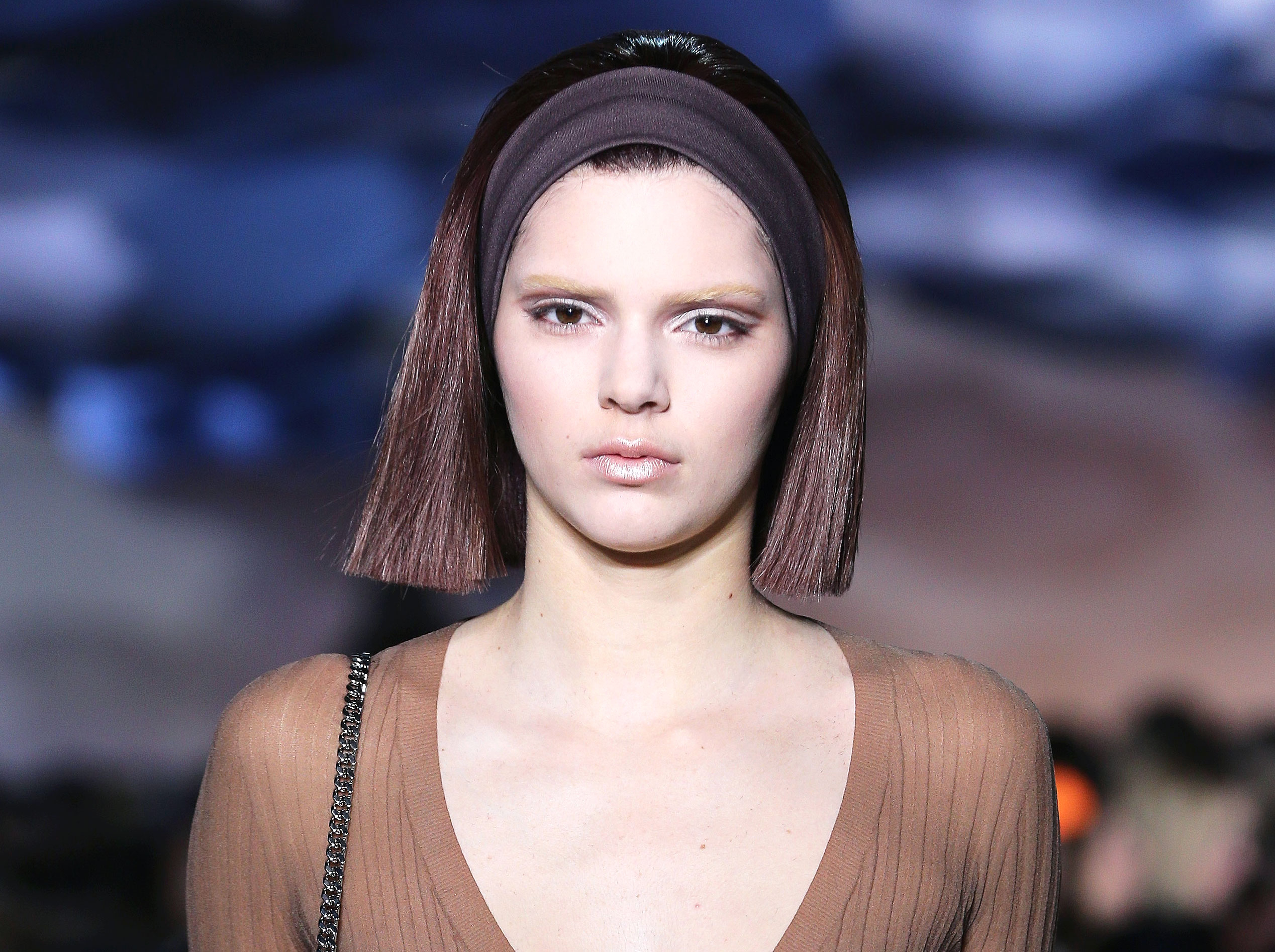 Kendall Jenner Once Plucked Out All Of Her Eyebrows Pics