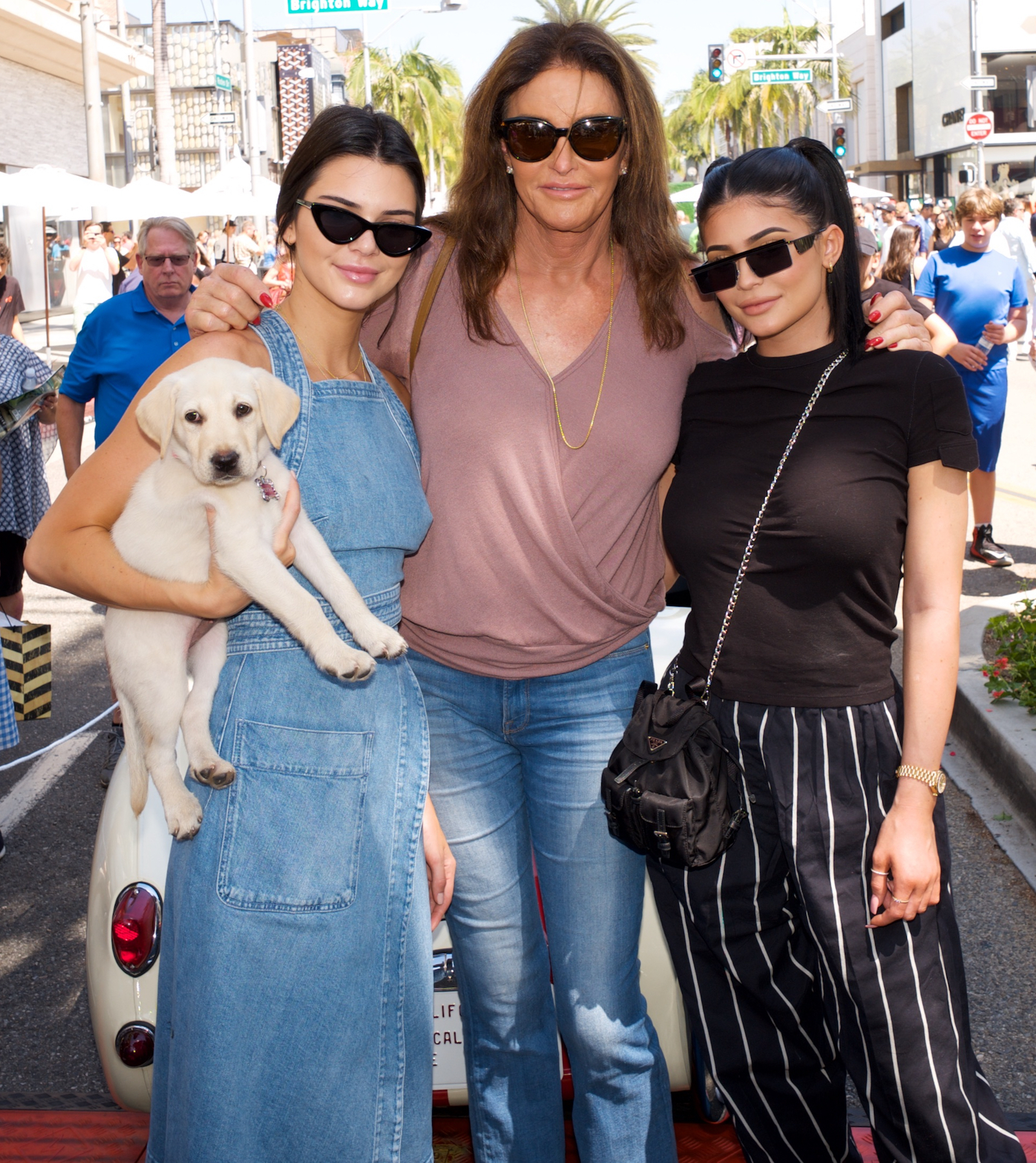 Caitlyn Jenner Spends Father's Day With Kendall and Kylie