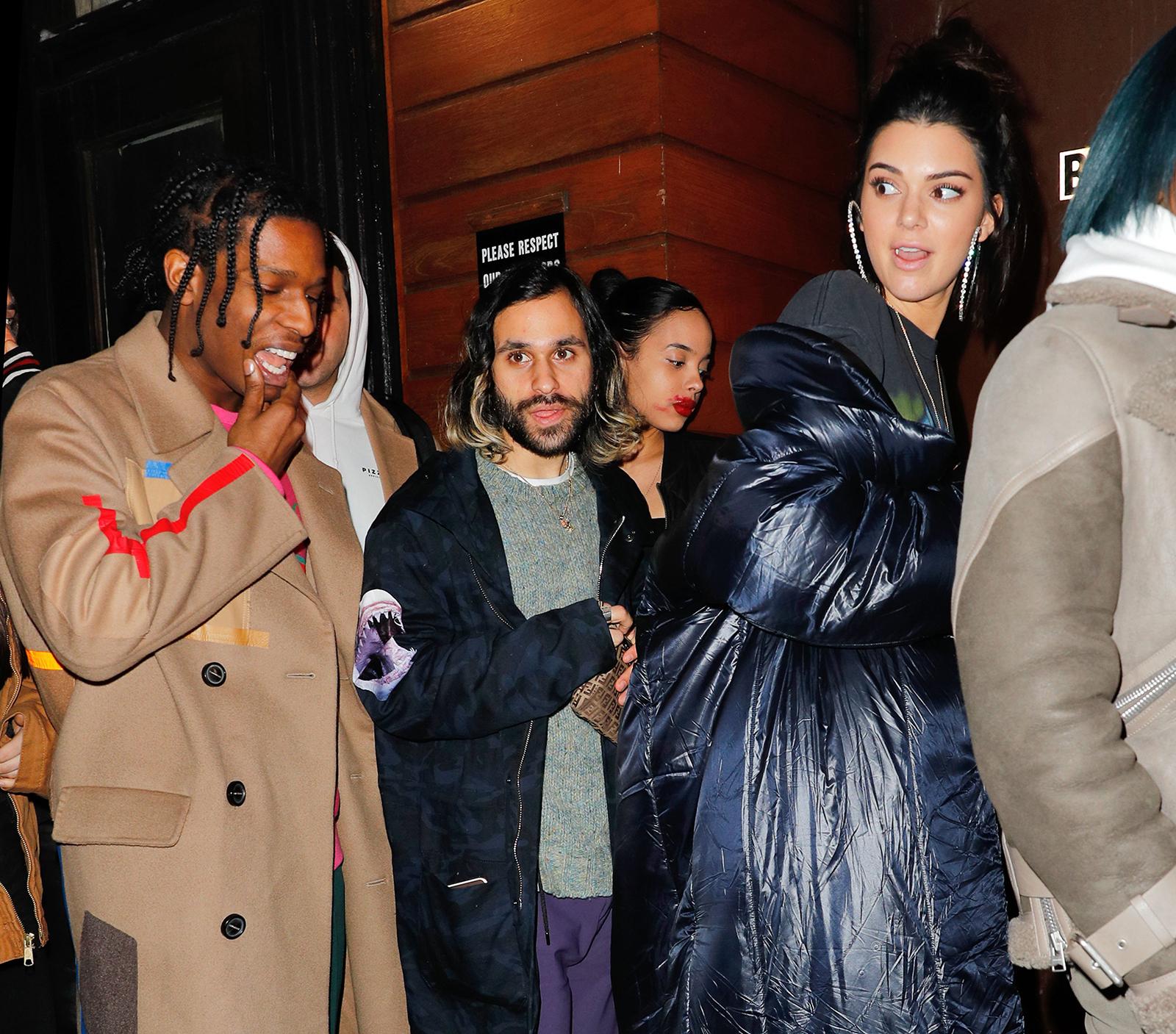 Kendall Jenner & A$AP Rocky