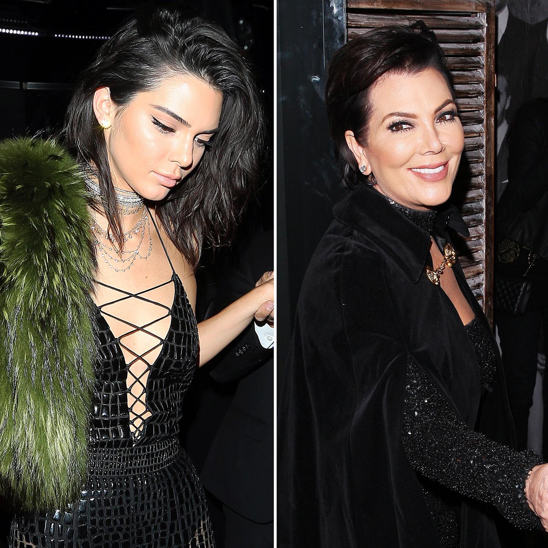 Kendall Jenner Kris Jenner birthday
