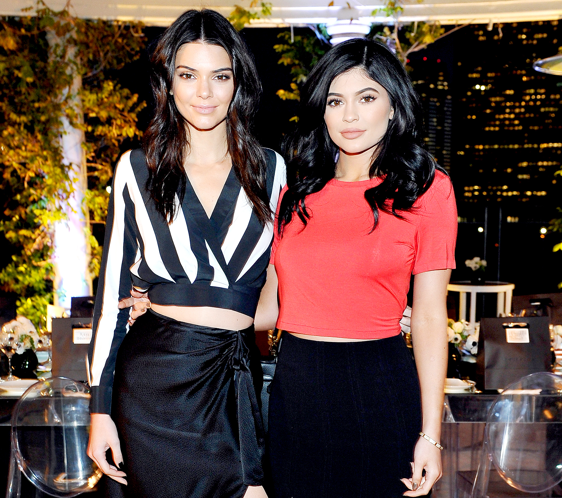 Kendall Jenner and Kylie Jenner attend as Neiman Marcus celebrates the exclusive #OnlyatNM KENDALL + KYLIE Collection at Neiman Marcus on March 31, 2016 in Beverly Hills, California.