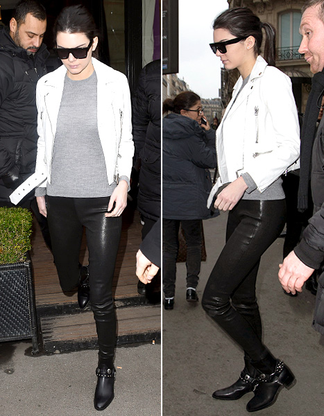 Kendall Jenner - Paris Street Style