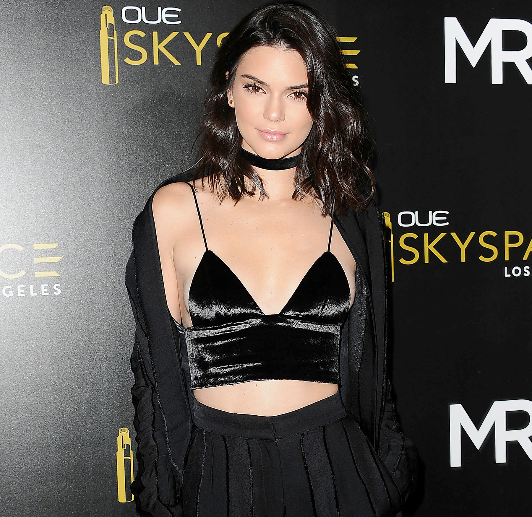 Kendall Jenner attends the launch of OUE Skyspace LA at U.S. Bank Tower on July 14, 2016.