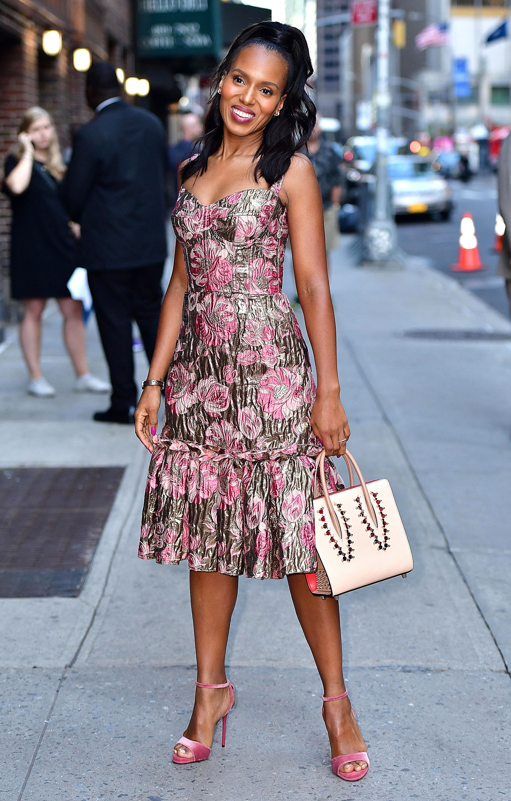 Kerry Washington Wears Three Stunning Outfits To Promote