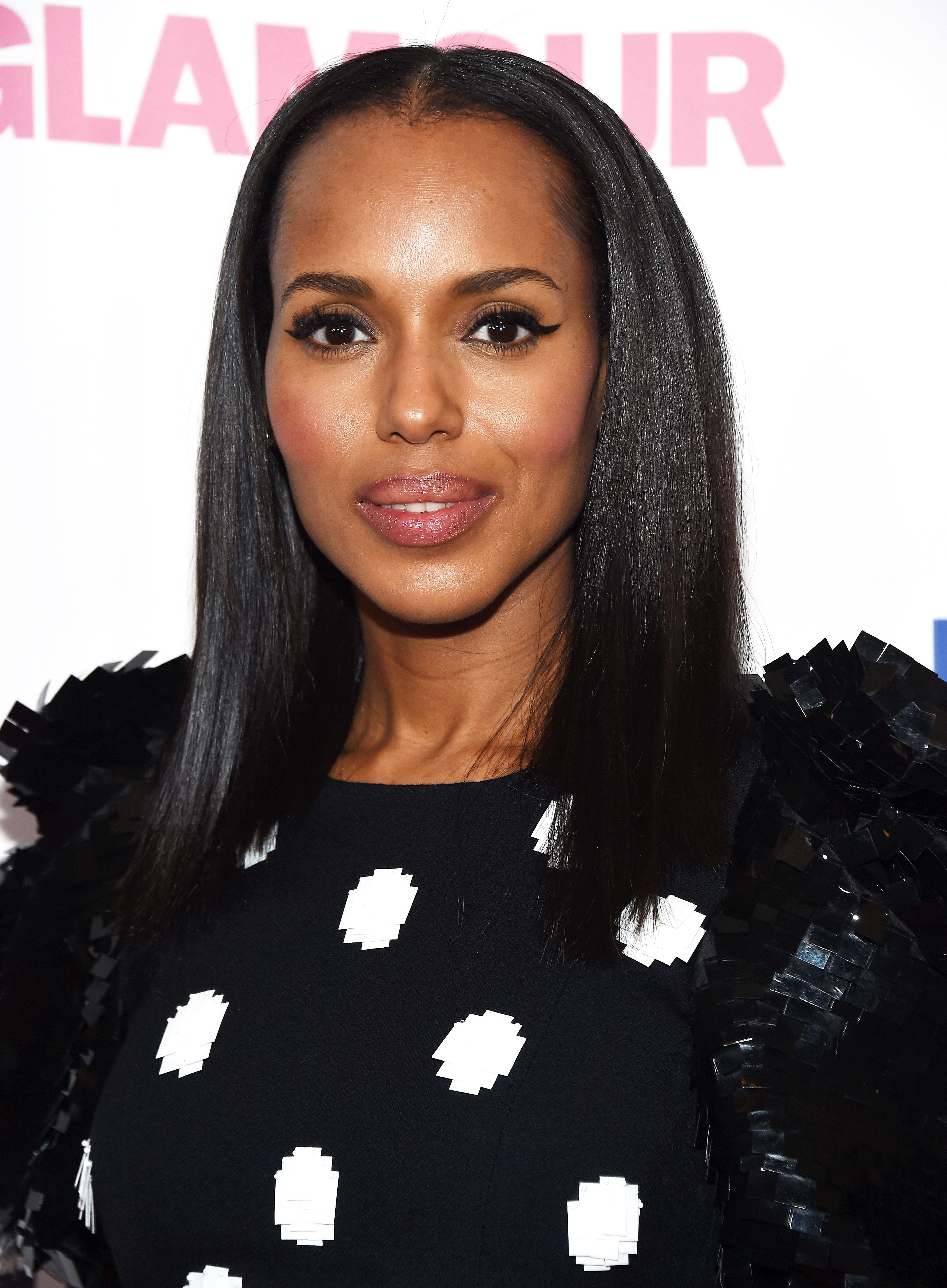 Kerry Washington Stopped Relaxing Hair for Her Kids