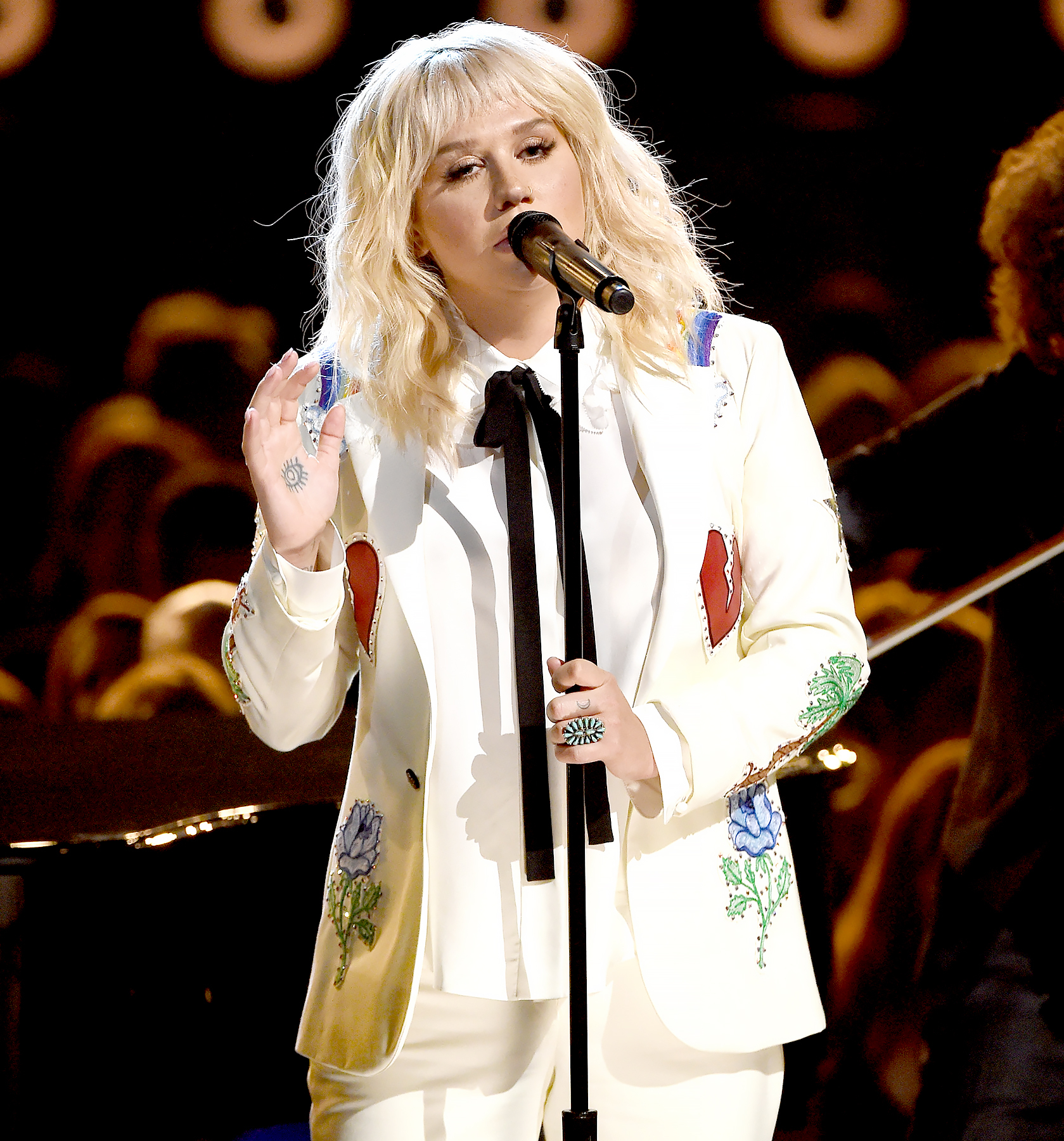 Kesha performs onstage during the 2016 Billboard Music Awards at T-Mobile Arena on May 22, 2016 in Las Vegas, Nevada.