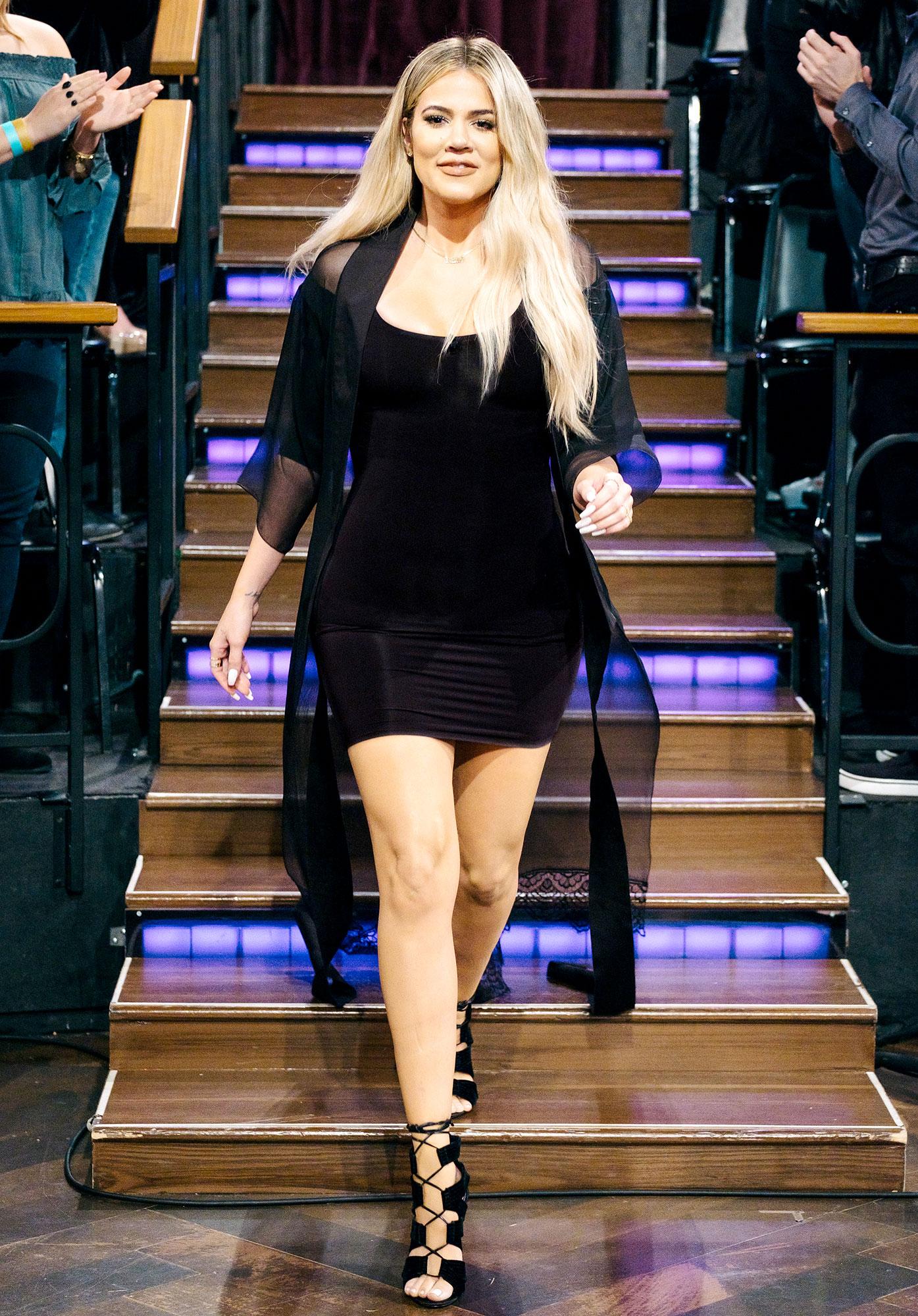 Khloe Kardashian joins James Corden on