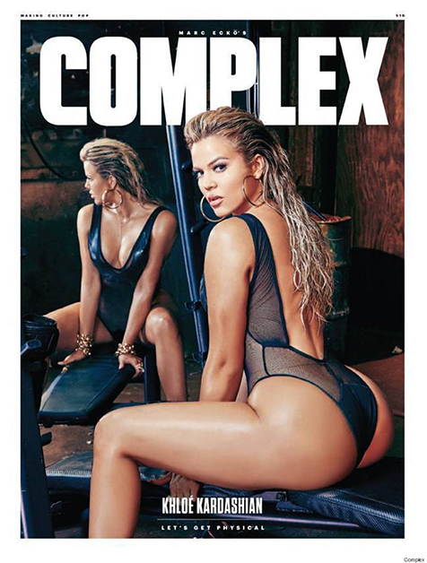 Khloe Kardashian Complex Cover