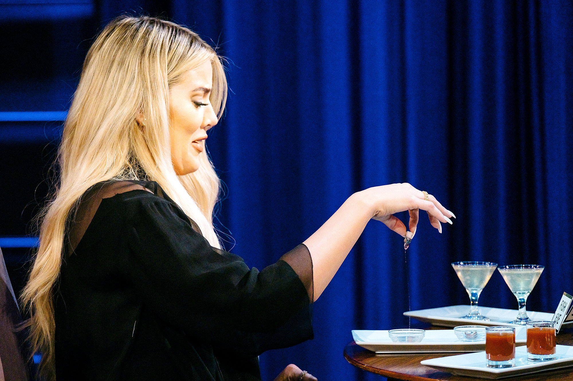 Khloe Kardashian plays Spill Your Guts or Fill Your Guts with James Corden during