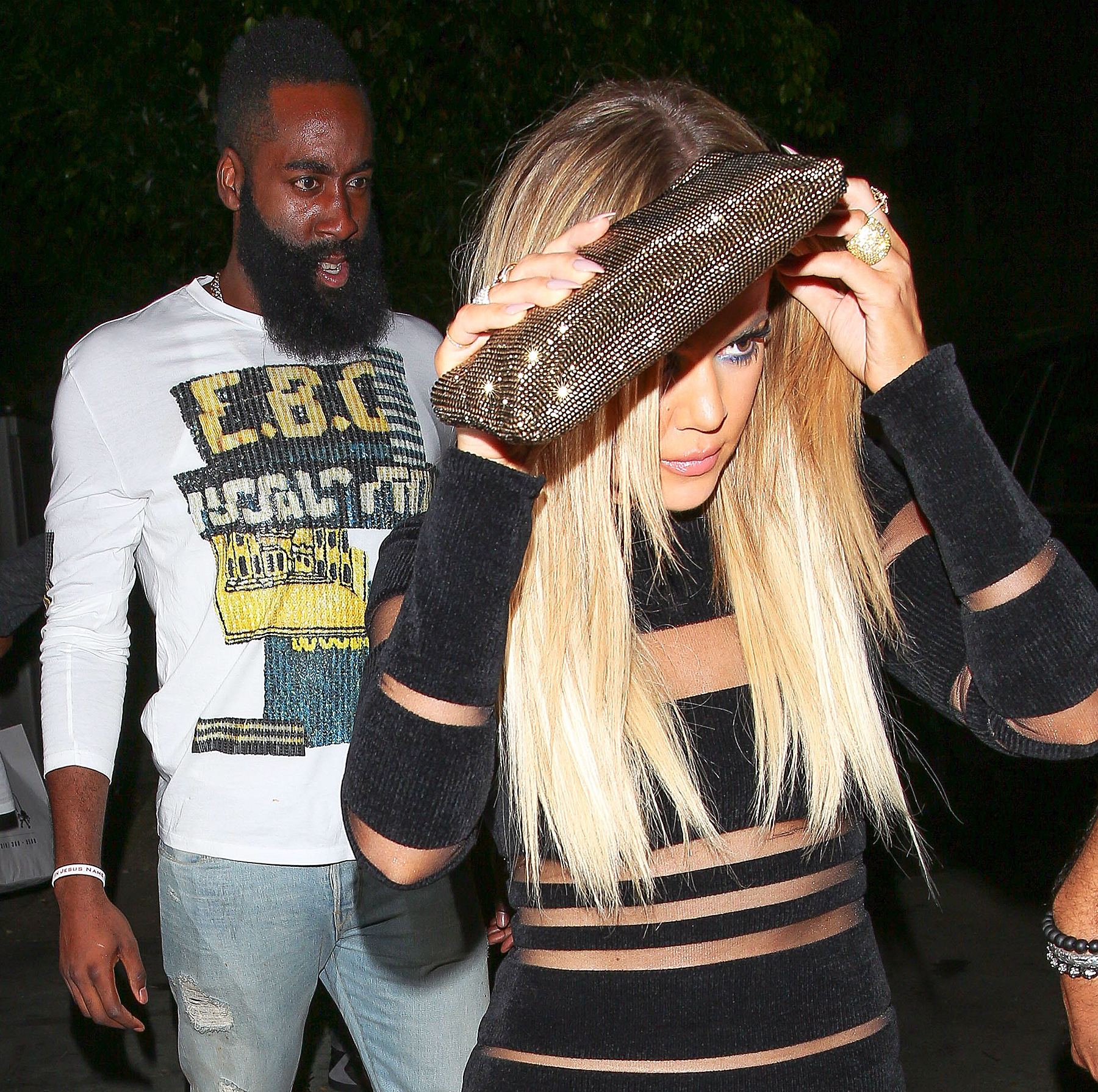 James Harden and Khloe Kardashian