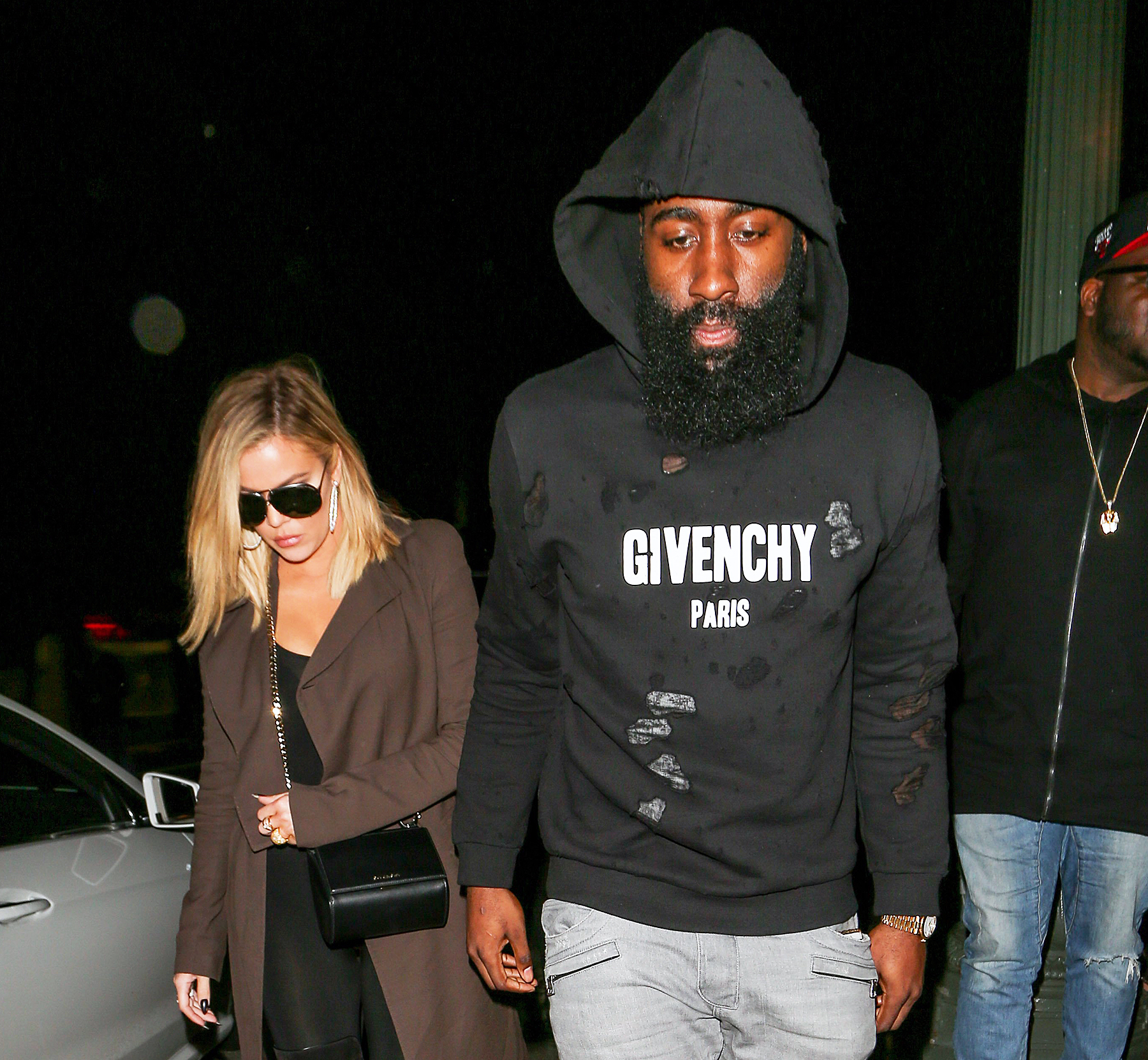 Khloé Kardashian and James Harden
