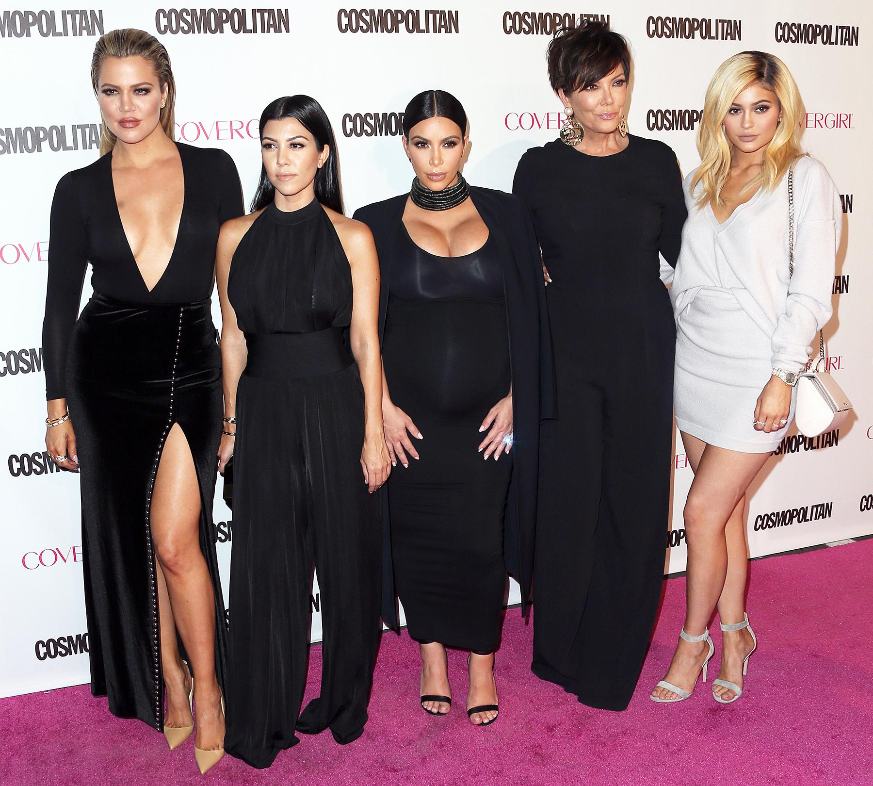 Kourtney Kardashian Khloe Kardashian Kim Kardashian Kris Jenner Kylie Jenner