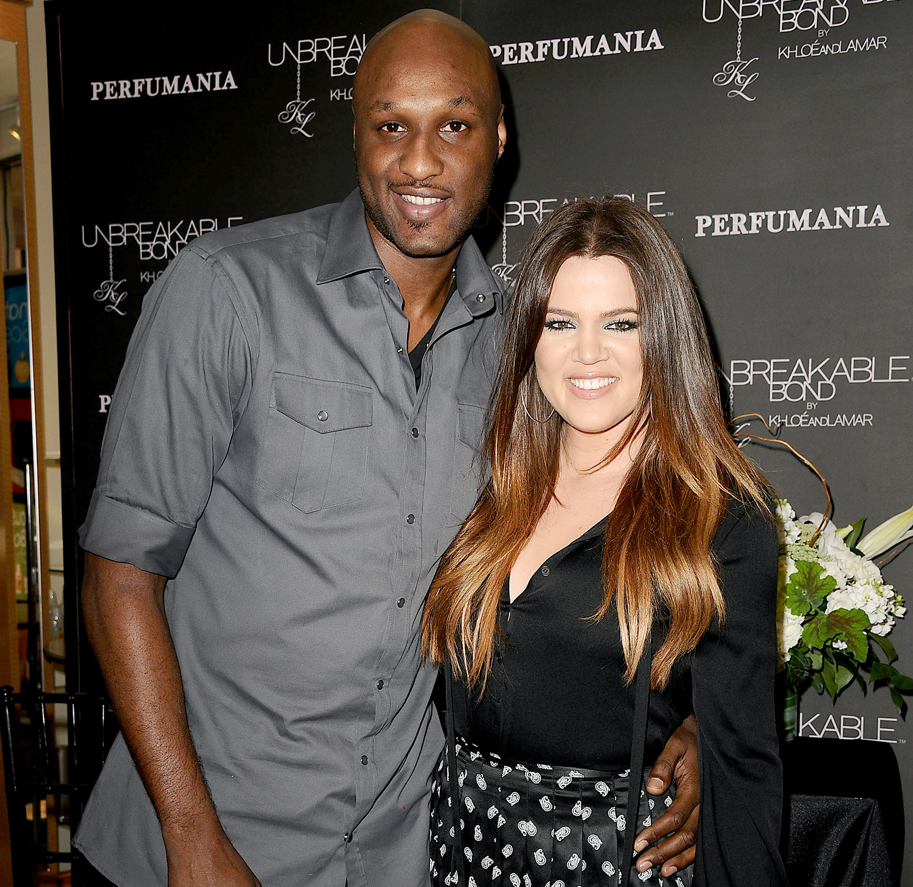 Lamar Odom and Khloe Kardashian make a personal appearance for