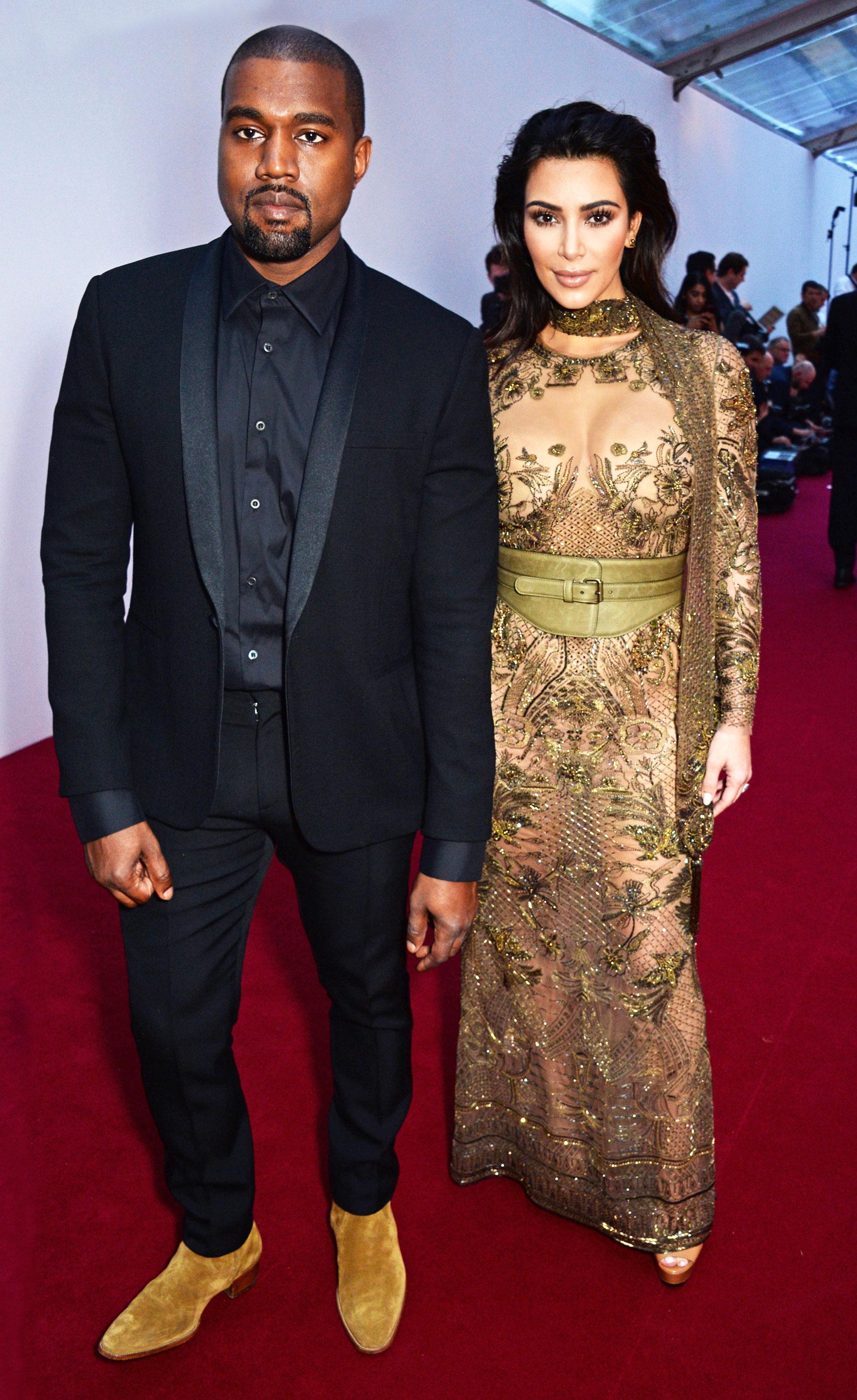 804cdb601a0fa Kanye West and Kim Kardashian David M. Benett Dave Benett Getty