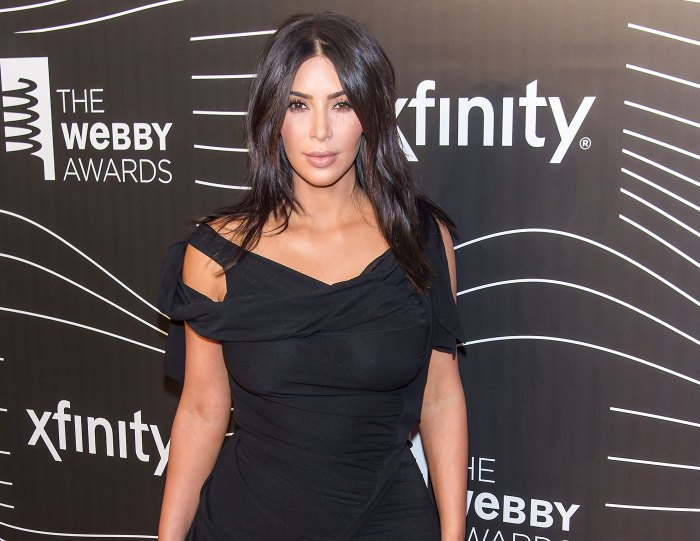 Kim Kardashian promises endless nude selfies at the Webby Awards