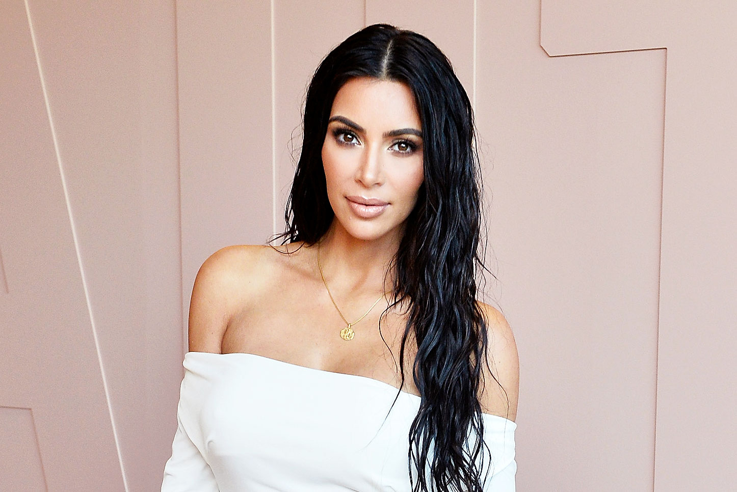 Kim Kardashian Just Posed Naked In Bed Because Why Not
