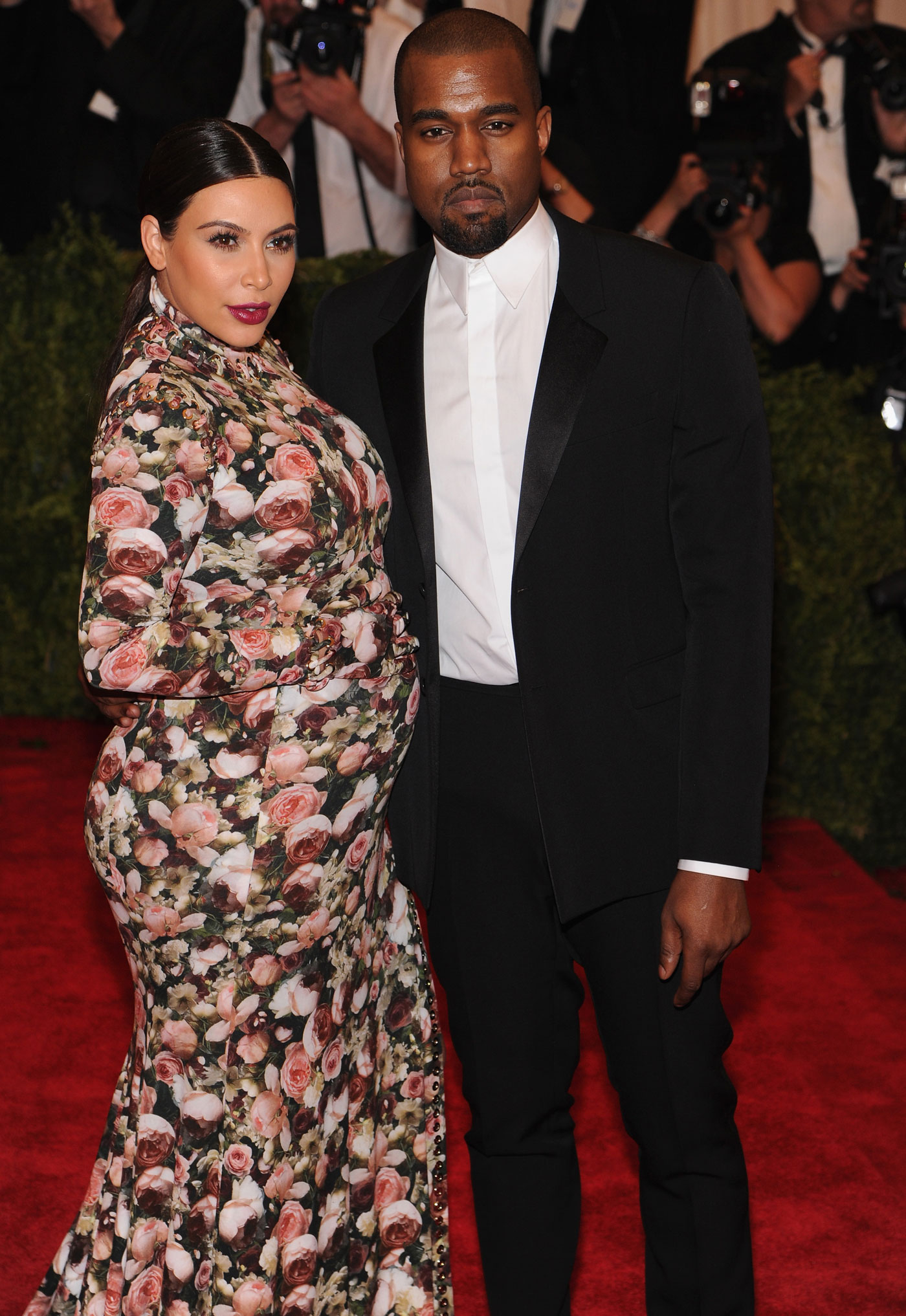 Kardashian And Kanye West Attend The Costume Insute Gala For Punk Chaos To Couture Exhibition At Metropolitan Museum Of Art On May 6 2017