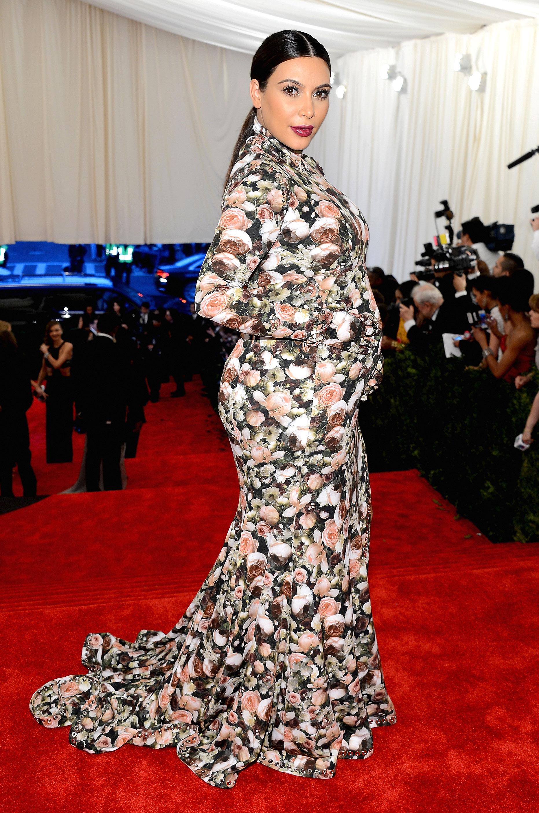 Kim Kardashian - In Givenchy by Riccardo Tisci.