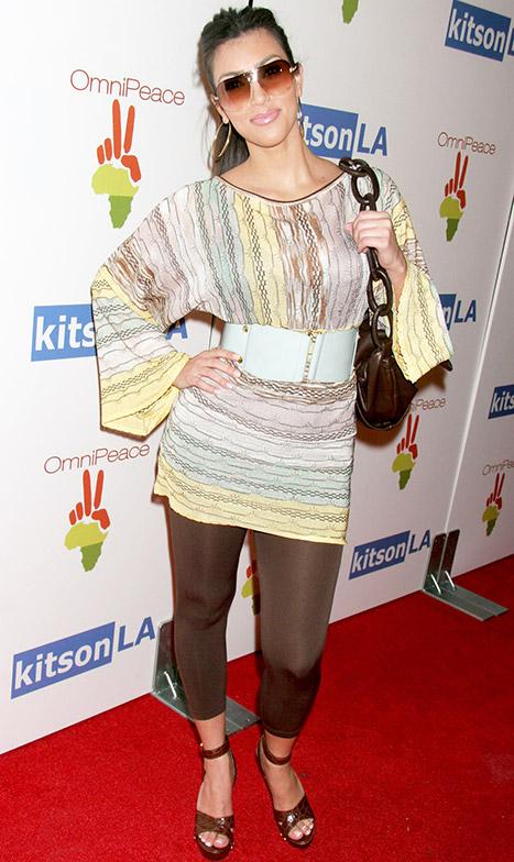 Kim Kardashian old style