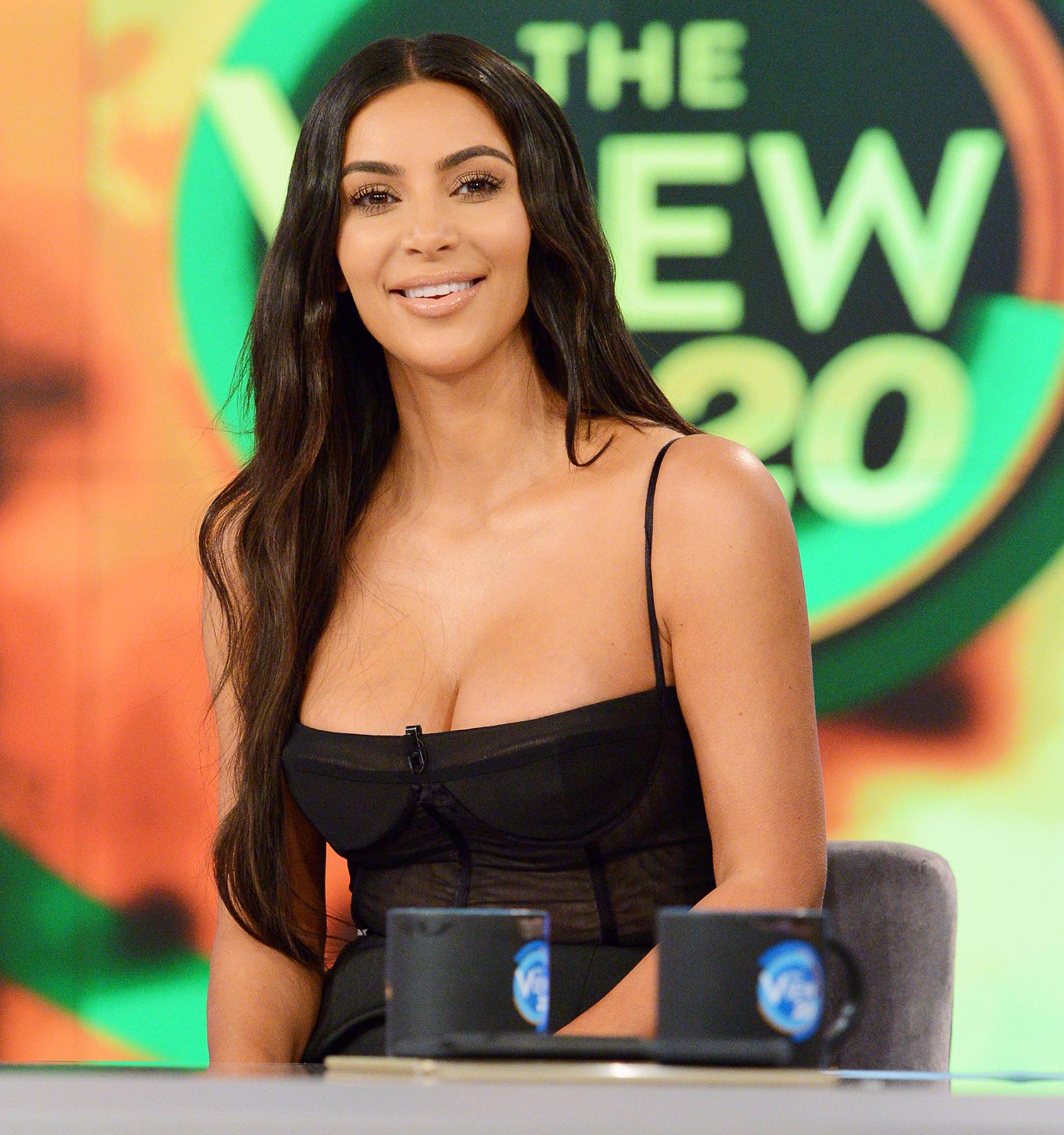 Kim Kardashian The View