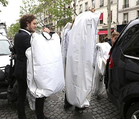 Kimye Garment Bags