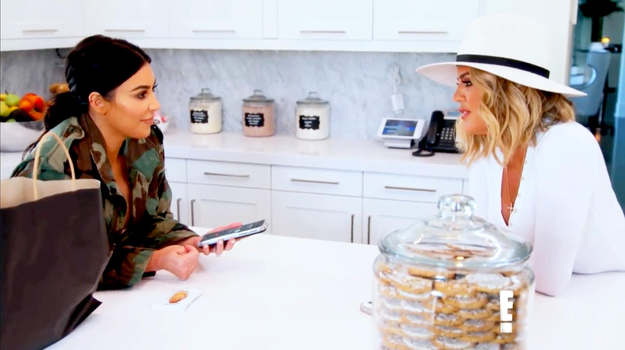 Kim Kardashian and Khloe Kardashian