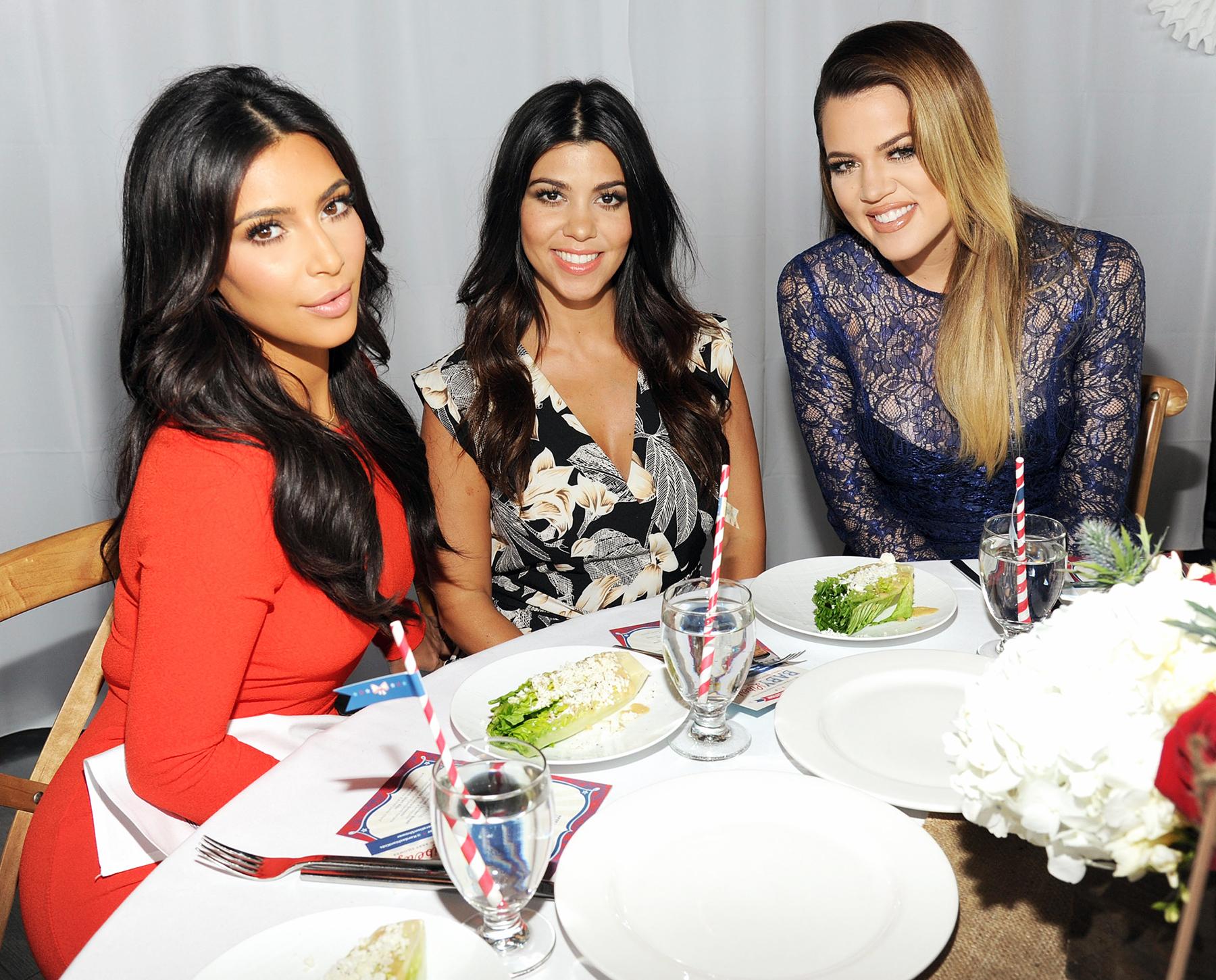 Kim Kardashian Kourtney Kardashian Khloe Kardashian