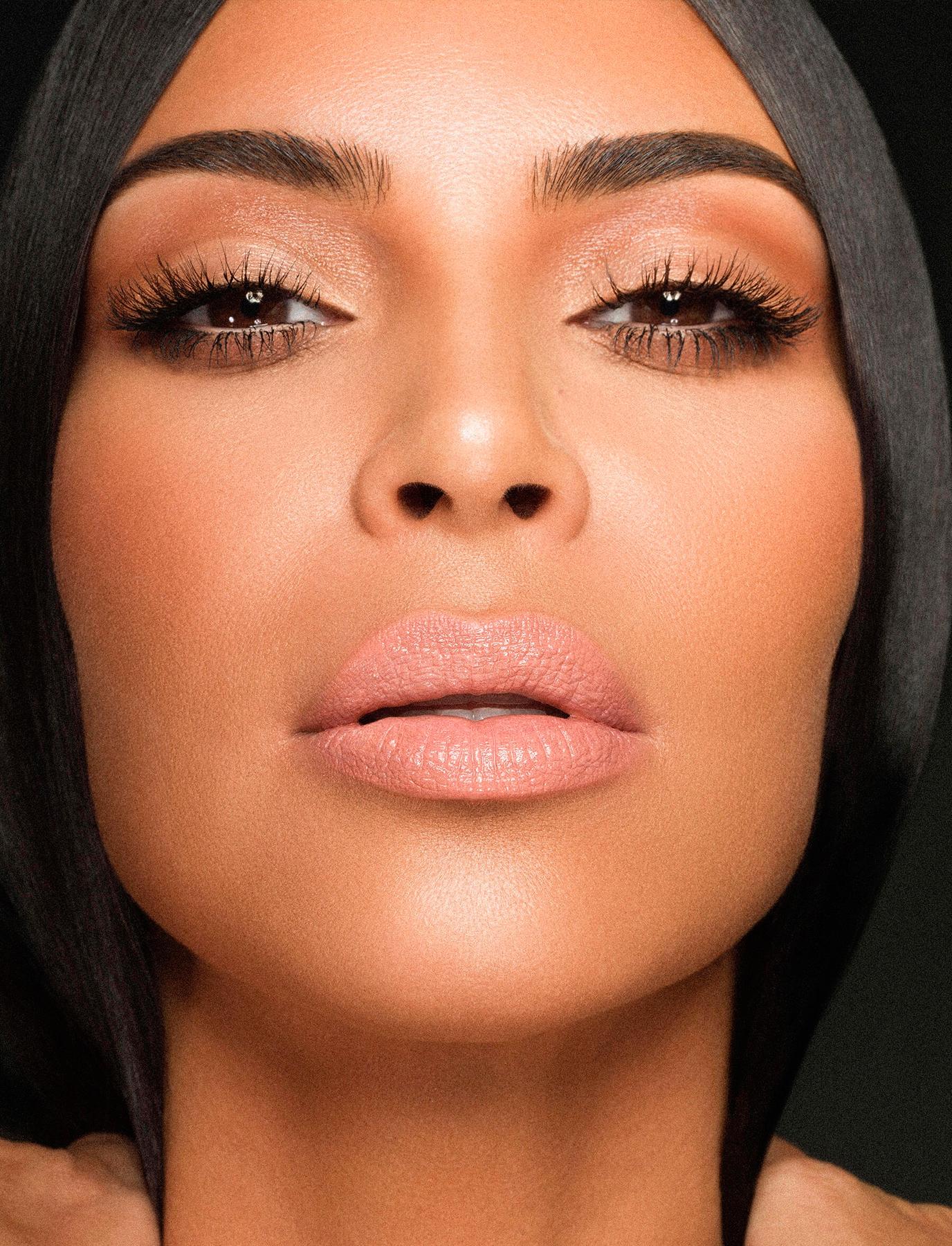 kim kardashian nude lips