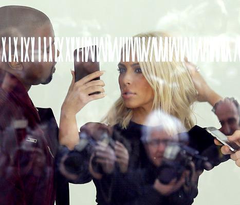 Kim Kardashian - makeup check