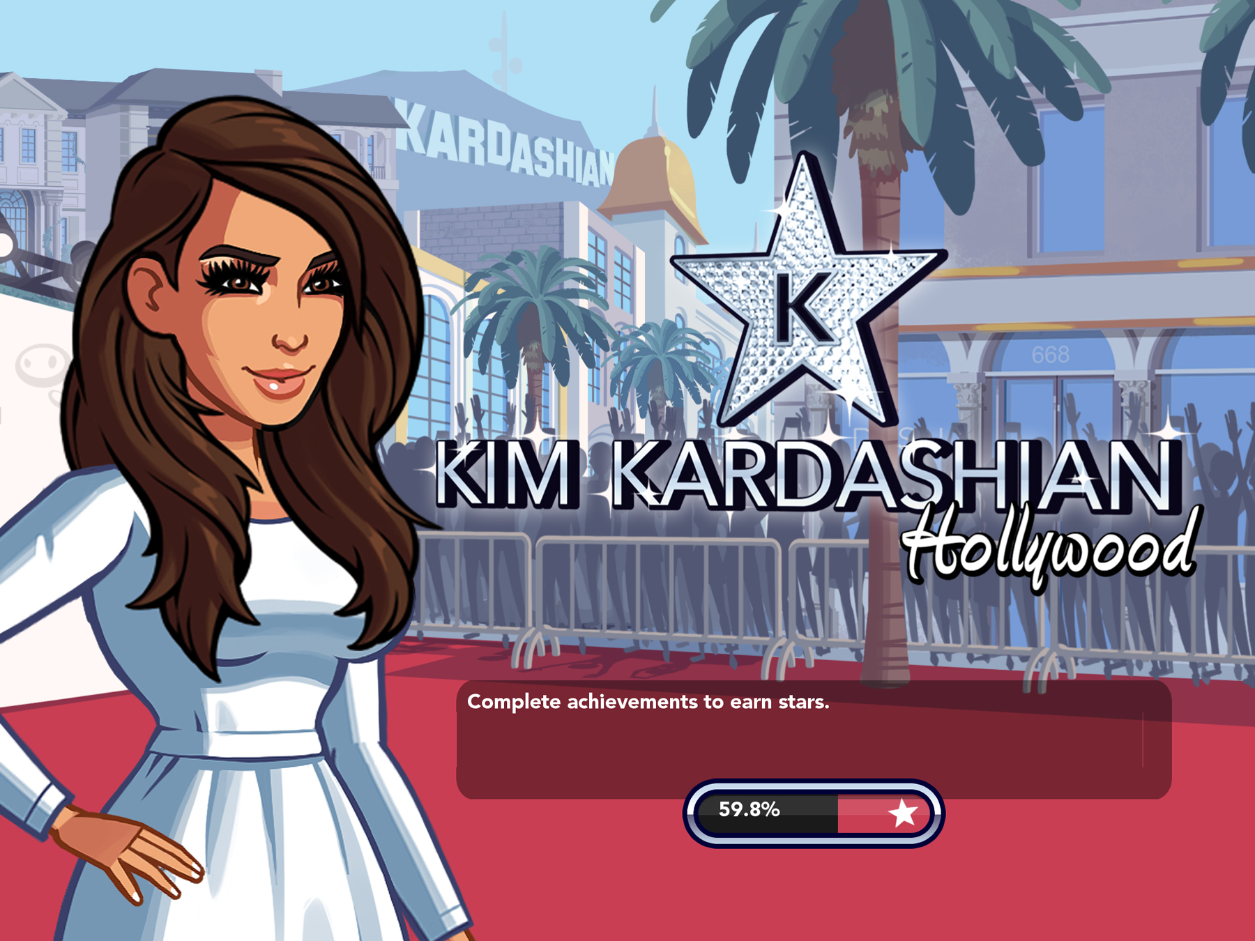 Kim Kardashian's mobile game.
